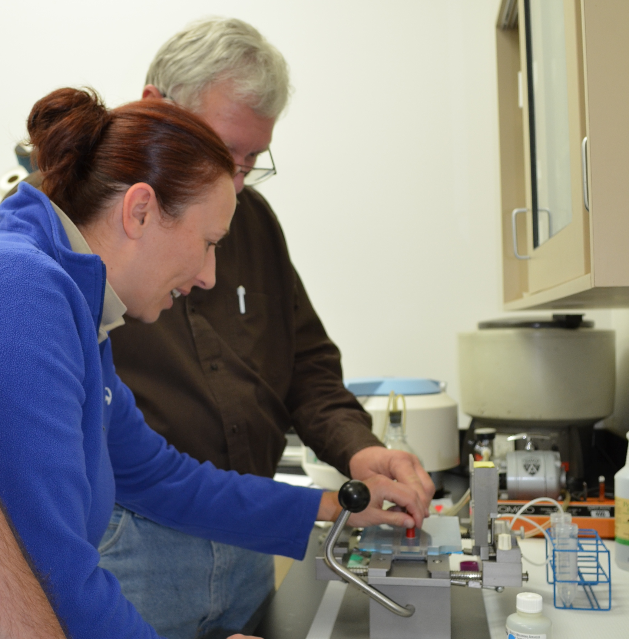 Julie Skaife_working in lab