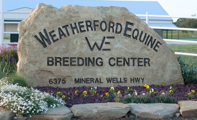 Weatherford Equine_Sign