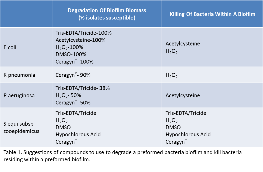 Biofilms in Mares_Table 1 revised 2
