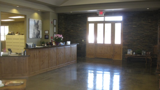 Pioneer Equine Hospital_Front Office